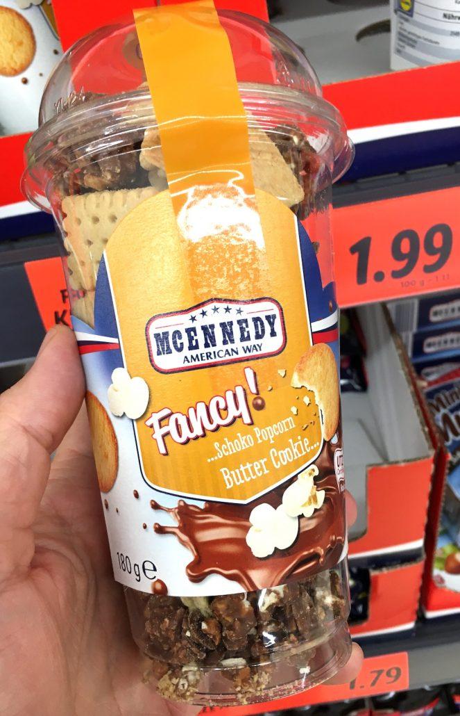 Lidl Mcennedy Fancy! Schoko-Popcorn Butter Cookie