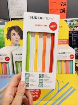 Lidl Slider Straw Kunststoff-Strohhalme