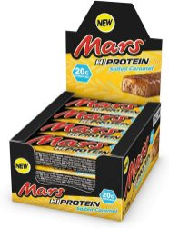 Mars HiProtein Salted Caramel Display