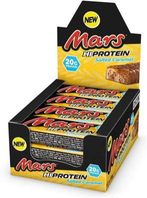 Mars HiProtein Salted Caramel Display