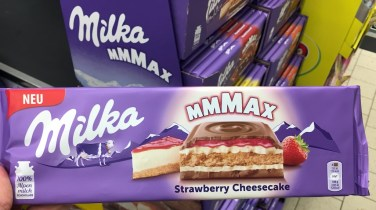 Mondelez Milka Mmmax Strawberry Cheesecake