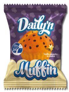 Einzel verpackter Muffin von Daily'n ohne Palmöl.