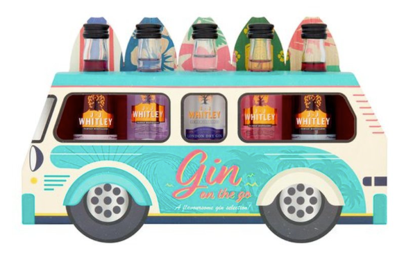 New Vision Packaging London Gin on the go Bus