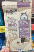 Orlando PureTaste Kaustreifen vom Rind Hundesnack