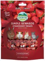 Oxbox Simple Rewards Strawbery Treats Gefriergetrocknet für Kleintiere