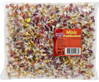 Red Band Mini-fruchtbonbons 3kg
