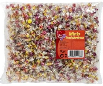 Red Band Mini-fruchtbonbons 3kg