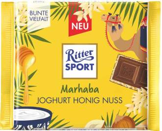 Ritter Sport Marhaba Joghurt-Honig-Nuss 100g