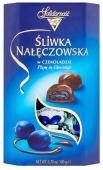 Solidarnosc Sliwka Naleczowska Czekoladzie Pflaume in Schokolade 190 Gramm
