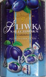 Solidarnosc Sliwka in Schokolade 190 Gramm