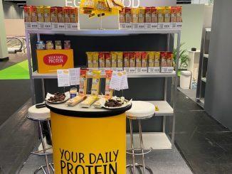 Stand von Eggy Food Start-up auf ISM 2020