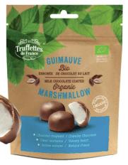 Truffettes de France Guimauve Bio Organic marshmallows mit Schokoladenüberzug