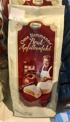 Vadossi Dresden Oma Hartmanns Bratapfelkonfekt Beutel