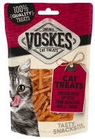 Voskes Cat Treats Chicken Bites Kip Bites Huhn Häppchen Poulet Snack Tasty Snacks for Cats