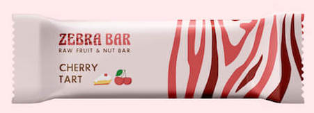 ZebraBar Raw Fruit+Nut bar Cherry Tart Single