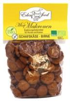 Eden Food Mini-Makronen mit Schafskäse-Birne-Geschmack - Ergänzungsfuttermittel für Hunde und Katzen.