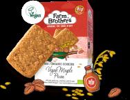 Farm Brothers Biokekse Pecan mit Ahornsirup, vegan.