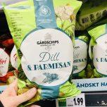 Gardschips Dill+Parmesan