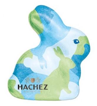 Hachez Hasenhohlfigur Camouflage