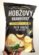 Hobza Kartoffelchips Tschechien Hobzovy Bramburky Chedar a Jalapeno