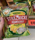 Hobzovy Straznicke Bramburky cesnekove Knoblauchchips für