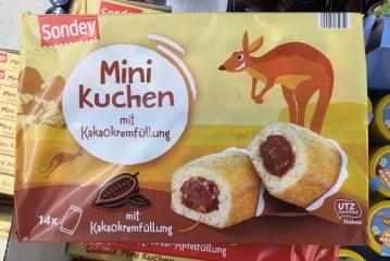 Sondey Minikuchen Känguruh-Motiv