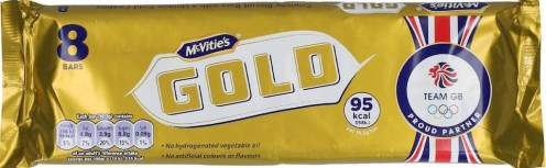 McVitie Gold 8 Riegel-Packung