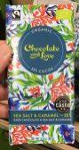 Organic Chocolate and Love Sea Salt+Caramel Tschechien