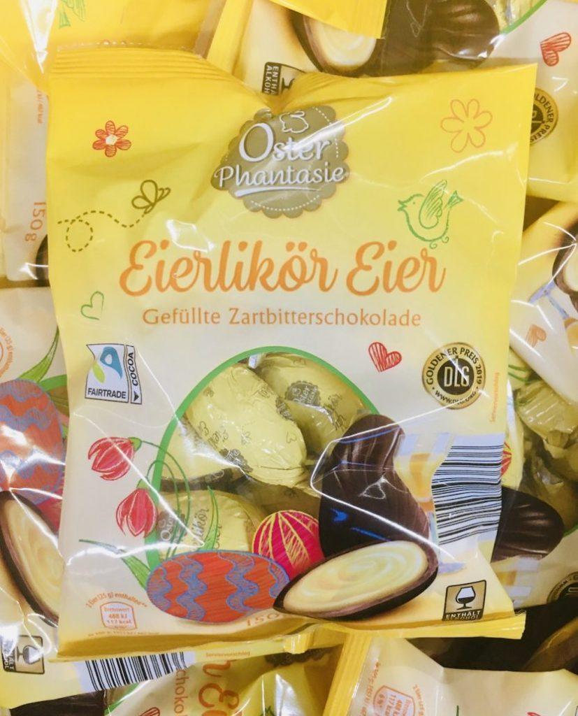 OsterPhantasie Eierlikör Eier Zartbitterschokolade