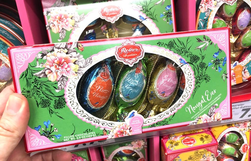 Reber Nougat-Eier Ostern 2020