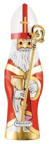 Riegelein Schokoladenhohlfigur Bischof mit Mitra und Stab