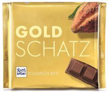 Ritter Goldschatz Sport Vollmilch 40%
