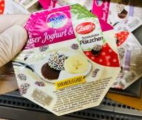 SachsenMilch Bananenjoghurt mit Zetti-Schokoladen-Plätzchen