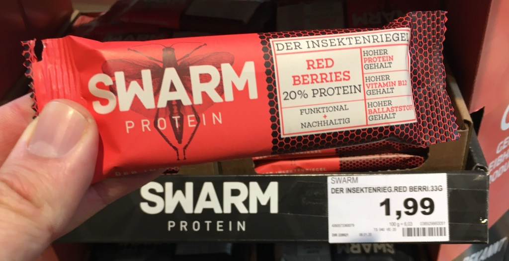Swarm Protein Riegel Red Berries 20% Protein