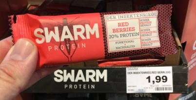 Swarm Protein Riegel Red Berries 20% Protein