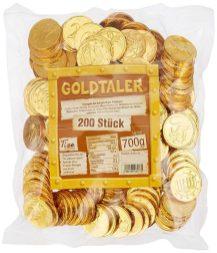 Tise Goldtaler 200 Stück 700 Gramm