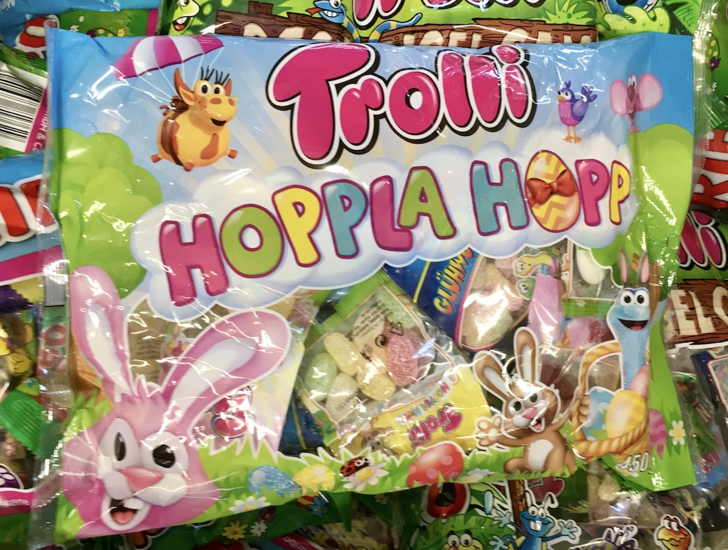 Trolli Hoppla Hopp Ostermotiv 2020 450 Gramm