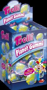 Trolli Planet-Gummi Thekendisplay
