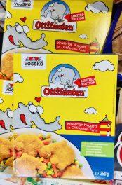 Vossko Ottifanten Limited Edition Knusprige Nuggets in Ottifanten-Form 350 Gramm TK