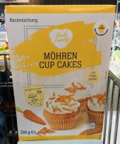 Aldi Back Family MöhrenCup Cakes Backmischung 260G