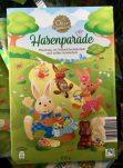Aldi OsterPhantasie Hasenparade Mischungaus Vollmilchschokolade und weißer Schokolade 100G