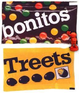Bonitos und Treets-Beutel