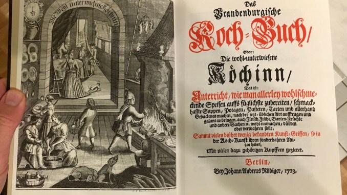 Brandenburgisches Kochbuch Illustration Innen