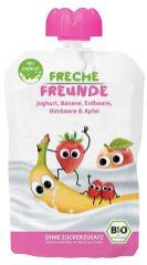 Freche Freunde Quetschpackung joghurt Banane Erdbeere Himbeere Apfel