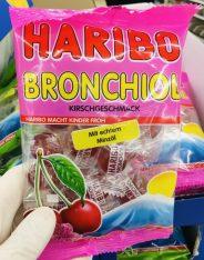 Haribo Bronchiol mit echtem Minzöl Kirschgeschmack