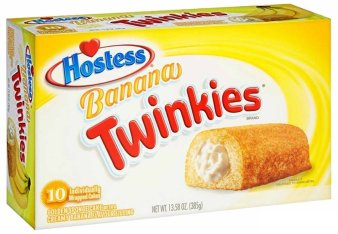 Hostess Twinkies Banana