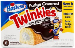 Hostess Twinkies Fudge Covered