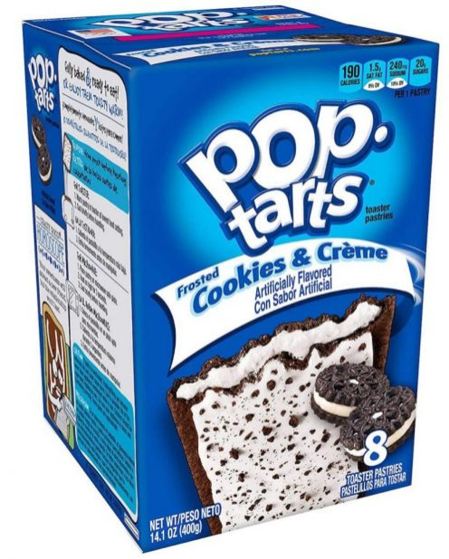 Kellogg's Pop Tarts Cookies & Cream 8er