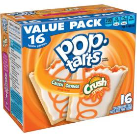 Kellogg's Pop Tarts Crush Orange 16er