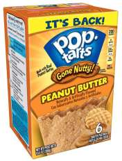 Kellogg's Pop Tarts Gone Nutty Peanut Butter